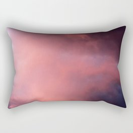 Ethereal Sunset Rectangular Pillow