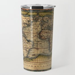 World Map 1570 Travel Mug