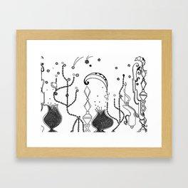Buried Treasure Framed Art Print