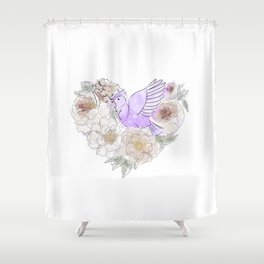 Bird of Paradise #2 Shower Curtain