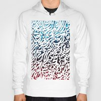 arabic Hoodies featuring Arabic Typography by Sarah Sallam