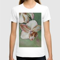 orchid T-shirts featuring Orchid by LoRo  Art & Pictures
