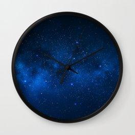 Nebula and Galaxy Wall Clock