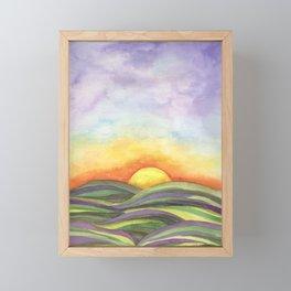 Sunrise, Sunset Framed Mini Art Print