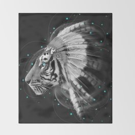 Don't Define the World (Chief of Dreams: Tiger ) Tribe Series Throw Blanket