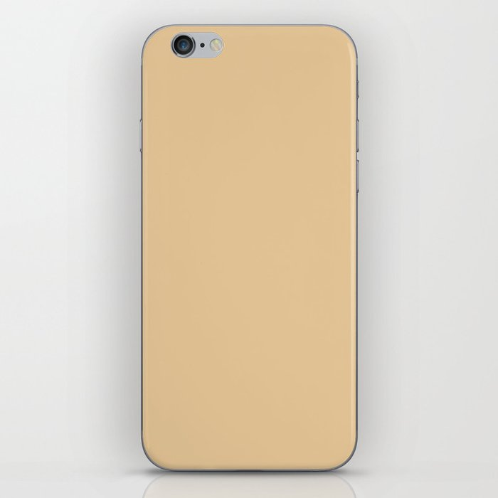 From The Crayon Box – Gold Brown Solid Color iPhone Skin
