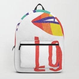 Lips Love Backpack