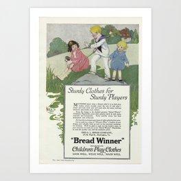 1920 Advert Art Print