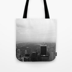 New York in Black and White Tote Bag