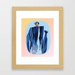 Baesic Paradise Falls Framed Art Print