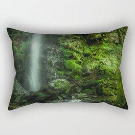 Mallyan in Green Rectangular Pillow
