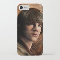 sam winchester iPhone & iPod Cases featuring Sam Winchester by Jackie Sullivan