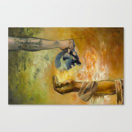 Exchange- Death for Life Canvas Print