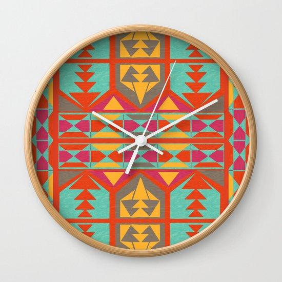 Neo Native Wall Clock