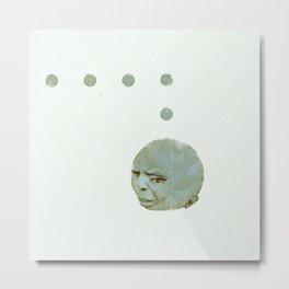 ManPac square 3 Metal Print