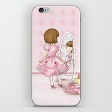 I believe in Pink ~ Audrey Hepburn iPhone & iPod Skin