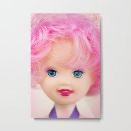 Pink & Cheery Metal Print