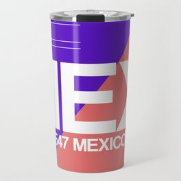 MEX Mexico City Luggage Tag 1 Travel Mug