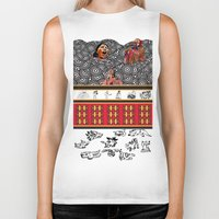 ethnic Biker Tanks featuring ETHNIC by CaritoMo