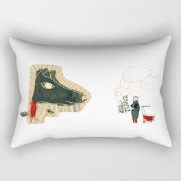 The seven little goats Rectangular Pillow