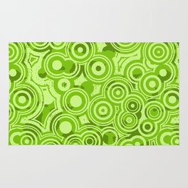 Green Fresh Sprouts Sprung Rug