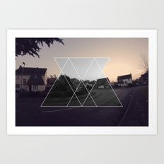 ABSTRACT GRAPHIC  Art Print