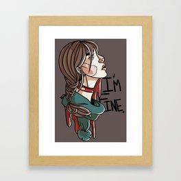 Im Fine Framed Art Print