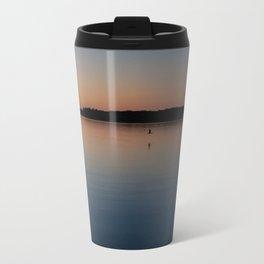 Sunset over Bay Travel Mug