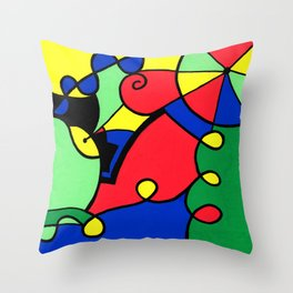Print #11 Throw Pillow