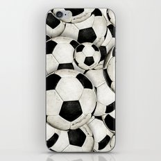 Dirty Balls - footballs iPhone & iPod Skin