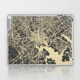 Baltimore map Laptop & iPad Skin