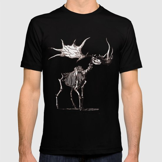 Irish Elk Skeleton T-shirt