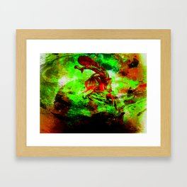 Bruises Framed Art Print