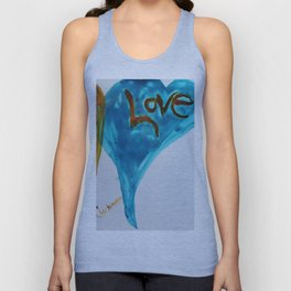 Love duo | Duo d'amour Unisex Tank Top