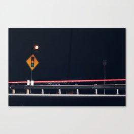 Night Traffic Canvas Print