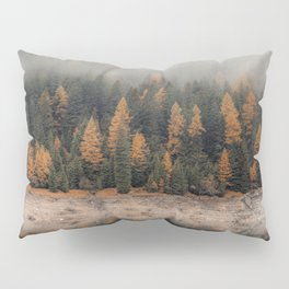 Winter forest trees #4 Pillow Sham