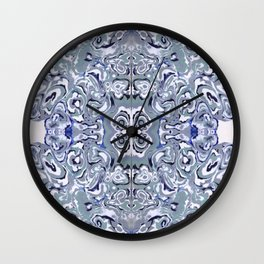 Periwinkle Oyster Farm Wall Clock