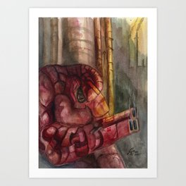 Heavy Caliber Art Print