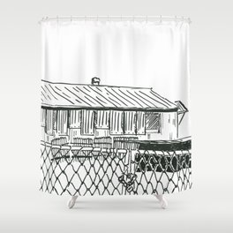 Kwa-Zulu Natal Factory  Closed Shower Curtain