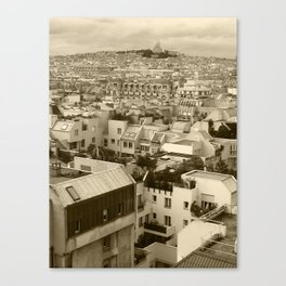 Rooftops of Paris 3 Canvas Print