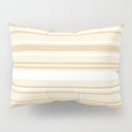 Stripes - Bamboo & Off-white Pillow Sham