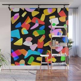 so many shapes Wall Mural
