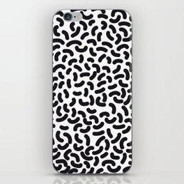 black worms iPhone Skin