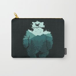 Hunting Season - Blue Carry-All Pouch
