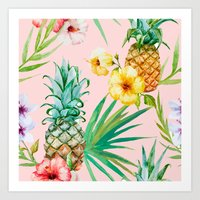 hawaii Art Prints featuring Hawaii by 83 Oranges™