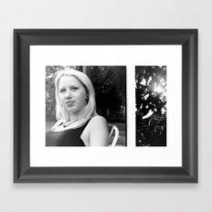 Lady. Framed Art Print