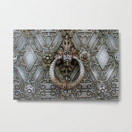 the door keeper Metal Print