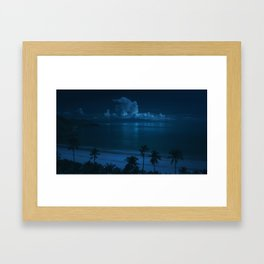 Ocean Storms Framed Art Print