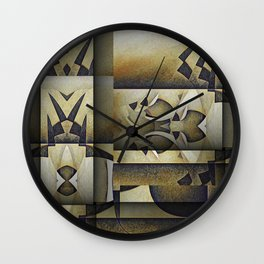 Art From The K  Homeworld Wall Clock