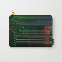 Glitch Contour Carry-All Pouch